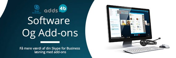 Skype for Business add-ons