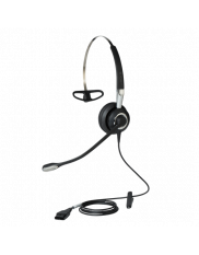 Dette headset har Quick Disconnect stik og ultra noise cancelling mikrofon